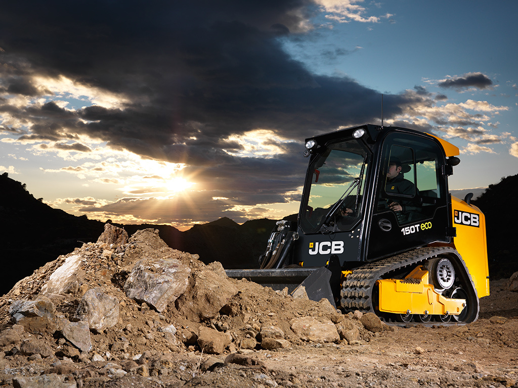 Tracked Skid Steer Track Loaders Jcb 150t