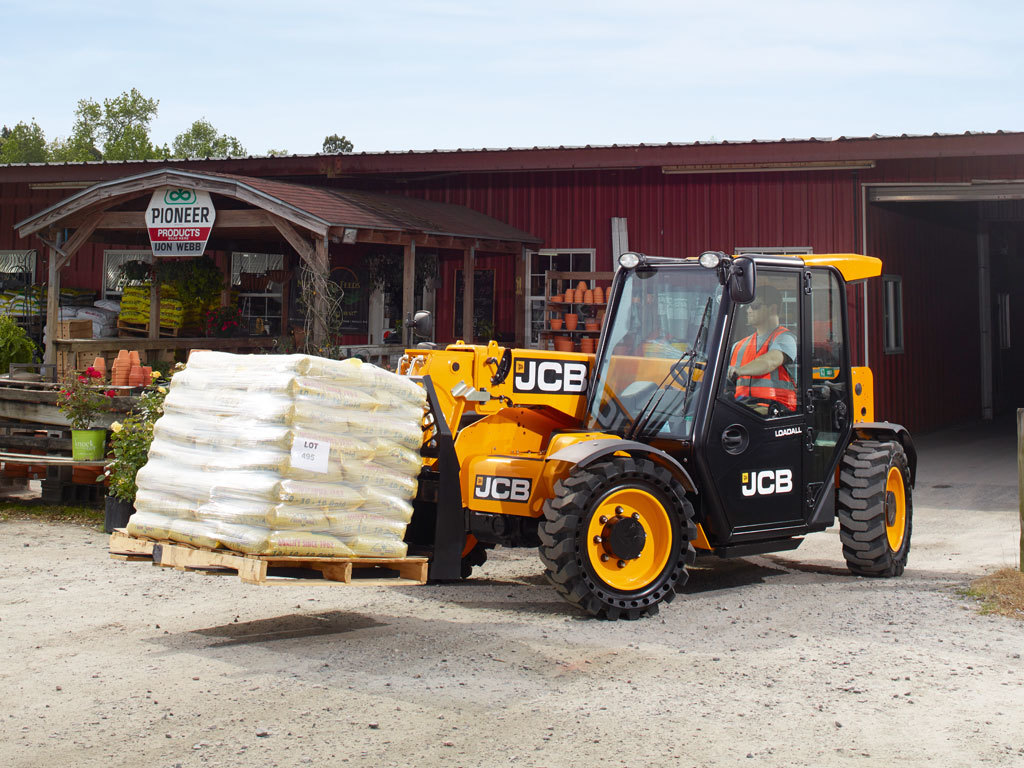 Telescopic Handler Telescopic Loader Jcb 505 20tc