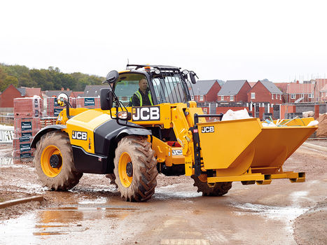 Telescopic Handler | Lift and Place| JCB 506-36 on