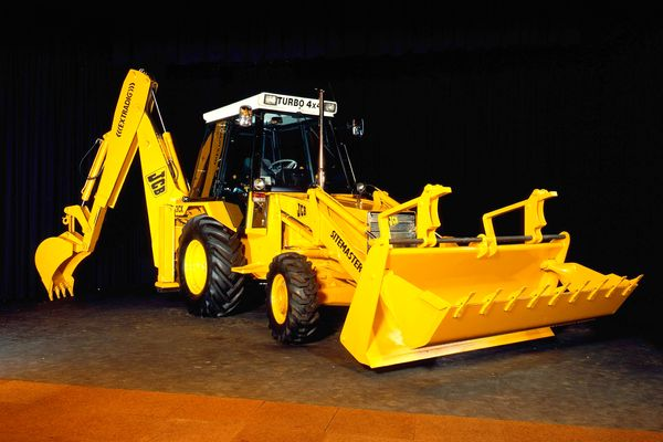 JCB HISTORY, BACKHOE LOADER