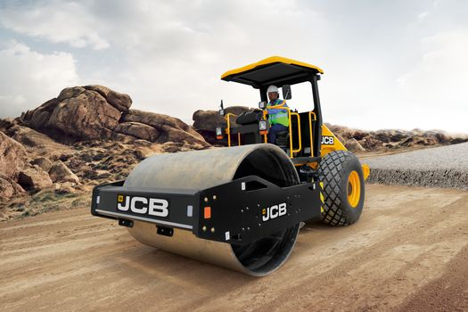 116D single drum soil compactor