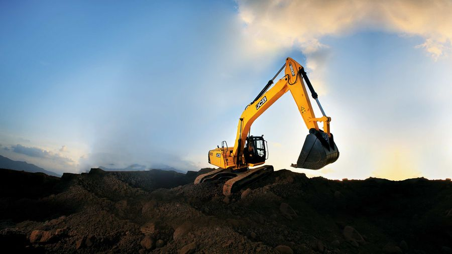 JCB Excavator JS205lc Product page Banner