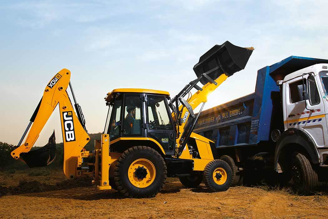 JCB 3DX ecoXcellence Backhoe Loaders