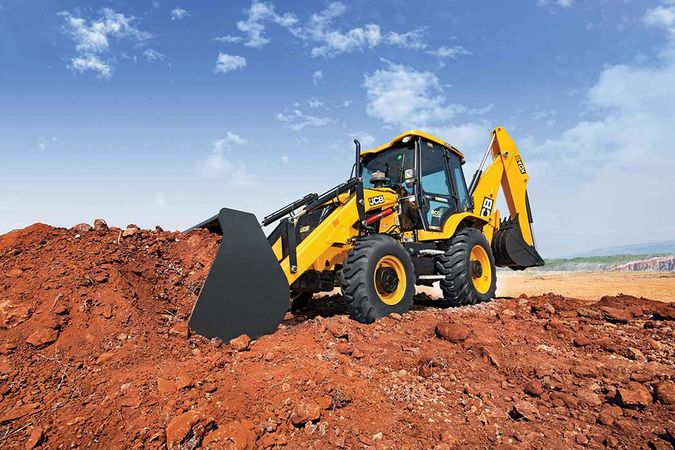 4DX ecoXcellence JCB Backhoe Loader