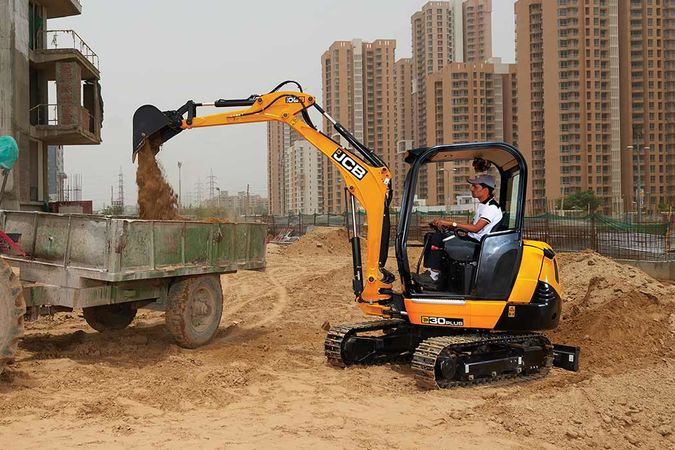 JCB 30 Plus Mini Excavator