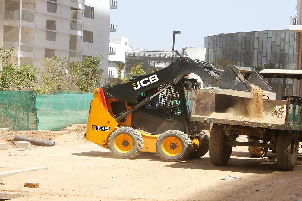 JCB 135 Skid Steer Loader