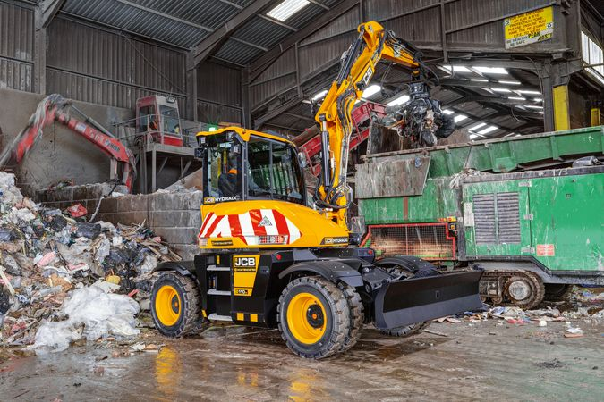 Hydradig, application, waste & recycling