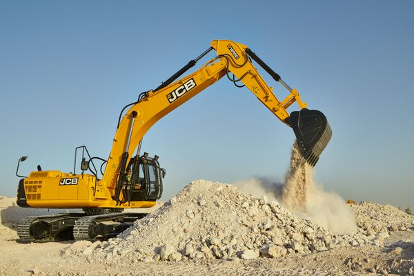 JS305, Tracked Excavator, Application