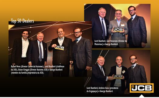 Brazilian Dealers awarded at top 50 event.