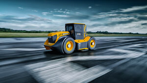 JCB World's Fastest tractor