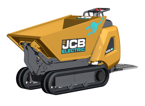 JCB Electric Dumpster