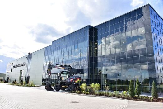 JCB Headquarter Germany Frechen