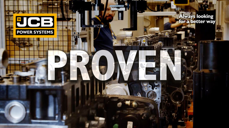 Proven always looking for a better way image - jcb engines
