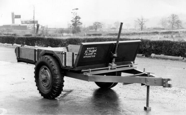 JCB tipping trailer 1945