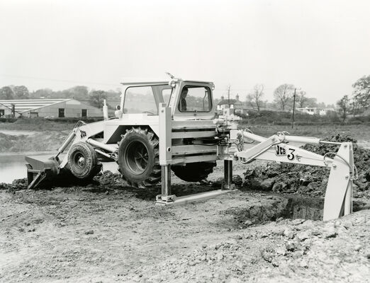 JCB 3C backhoe loader 1963