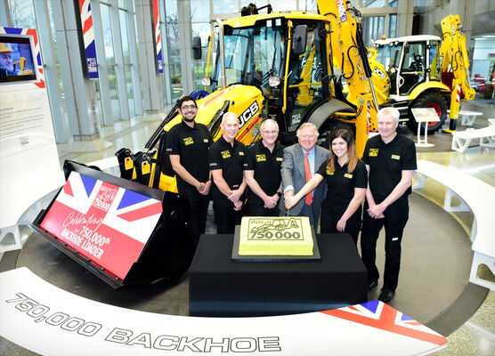 750,000th backhoe loader 2020