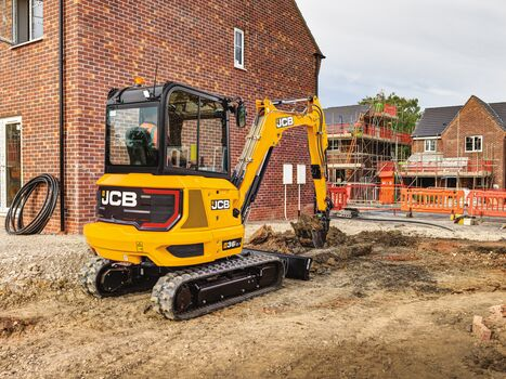 3.5T mini excavator application image