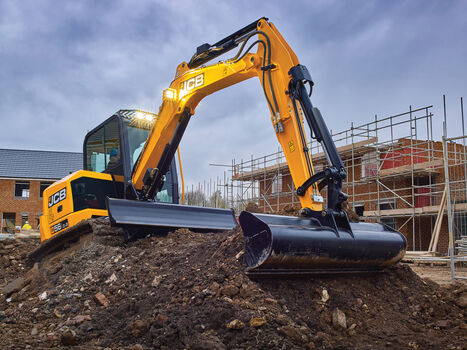 mini excavator application image of 56Z-2 stage v